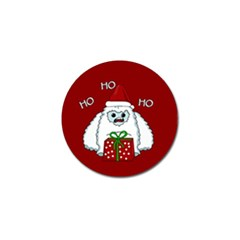 Yeti Xmas Golf Ball Marker (4 Pack) by Valentinaart