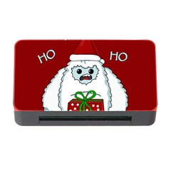 Yeti Xmas Memory Card Reader With Cf by Valentinaart