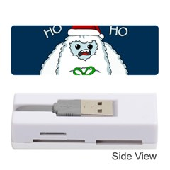 Yeti Xmas Memory Card Reader (stick)  by Valentinaart