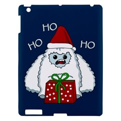 Yeti Xmas Apple Ipad 3/4 Hardshell Case by Valentinaart
