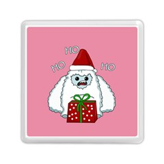 Yeti Xmas Memory Card Reader (square)  by Valentinaart