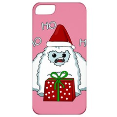 Yeti Xmas Apple Iphone 5 Classic Hardshell Case by Valentinaart