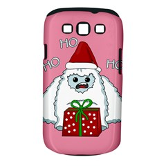 Yeti Xmas Samsung Galaxy S Iii Classic Hardshell Case (pc+silicone) by Valentinaart