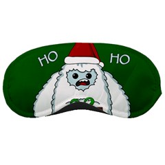 Yeti Xmas Sleeping Masks