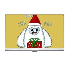 Yeti Xmas Business Card Holders by Valentinaart