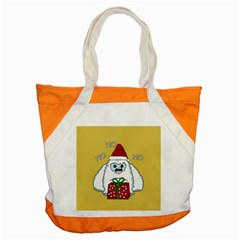 Yeti Xmas Accent Tote Bag by Valentinaart
