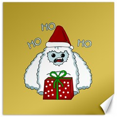 Yeti Xmas Canvas 16  X 16   by Valentinaart