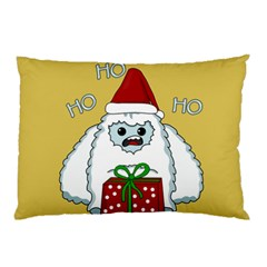 Yeti Xmas Pillow Case by Valentinaart
