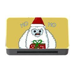 Yeti Xmas Memory Card Reader With Cf by Valentinaart