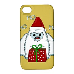 Yeti Xmas Apple Iphone 4/4s Hardshell Case With Stand by Valentinaart