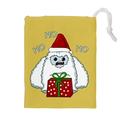 Yeti Xmas Drawstring Pouches (extra Large) by Valentinaart