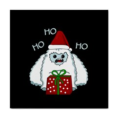 Yeti Xmas Face Towel by Valentinaart