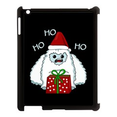 Yeti Xmas Apple Ipad 3/4 Case (black) by Valentinaart
