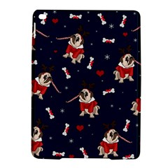 Pug Xmas Pattern Ipad Air 2 Hardshell Cases by Valentinaart