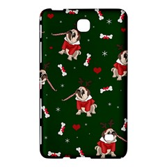 Pug Xmas Pattern Samsung Galaxy Tab 4 (8 ) Hardshell Case  by Valentinaart