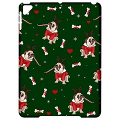 Pug Xmas Pattern Apple Ipad Pro 9 7   Hardshell Case by Valentinaart