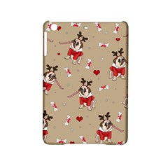 Pug Xmas Pattern Ipad Mini 2 Hardshell Cases by Valentinaart
