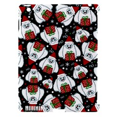 Yeti Xmas Pattern Apple Ipad 3/4 Hardshell Case (compatible With Smart Cover) by Valentinaart