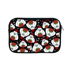Yeti Xmas Pattern Apple Ipad Mini Zipper Cases by Valentinaart