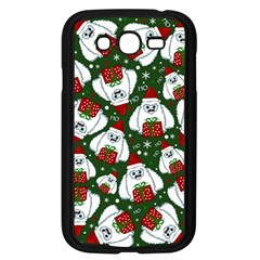 Yeti Xmas Pattern Samsung Galaxy Grand Duos I9082 Case (black) by Valentinaart