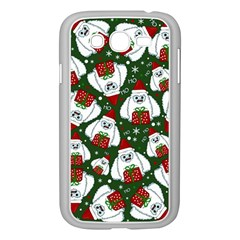Yeti Xmas Pattern Samsung Galaxy Grand Duos I9082 Case (white) by Valentinaart
