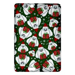 Yeti Xmas Pattern Amazon Kindle Fire Hd (2013) Hardshell Case by Valentinaart