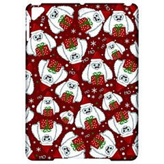 Yeti Xmas Pattern Apple Ipad Pro 9 7   Hardshell Case by Valentinaart