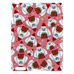 Yeti Xmas Pattern Apple Ipad 3/4 Hardshell Case by Valentinaart