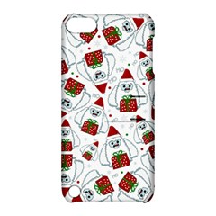 Yeti Xmas Pattern Apple Ipod Touch 5 Hardshell Case With Stand by Valentinaart
