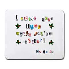 Santa s Note Large Mousepads by Valentinaart