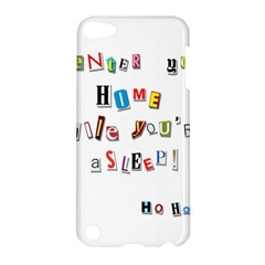 Santa s Note Apple Ipod Touch 5 Hardshell Case by Valentinaart