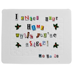 Santa s Note Jigsaw Puzzle Photo Stand (rectangular) by Valentinaart