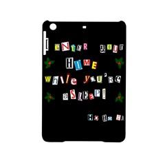 Santa s Note Ipad Mini 2 Hardshell Cases by Valentinaart