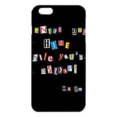 Santa s Note Iphone 6 Plus/6s Plus Tpu Case by Valentinaart