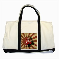 Karl Marx Santa  Two Tone Tote Bag by Valentinaart