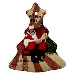 Karl Marx Santa  Ornament (christmas Tree)  by Valentinaart