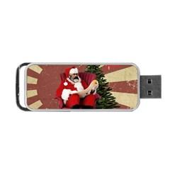 Karl Marx Santa  Portable Usb Flash (one Side) by Valentinaart
