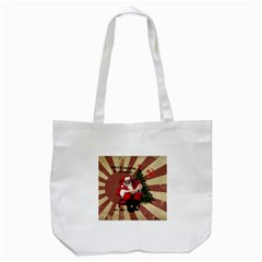 Karl Marx Santa  Tote Bag (white) by Valentinaart