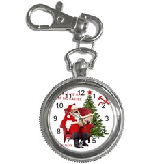 Karl Marx Santa  Key Chain Watches by Valentinaart