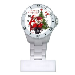 Karl Marx Santa  Plastic Nurses Watch by Valentinaart