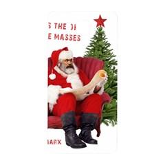 Karl Marx Santa  Samsung Galaxy Alpha Hardshell Back Case by Valentinaart