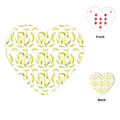 Chilli Pepers Pattern Motif Playing Cards (heart)  by dflcprints
