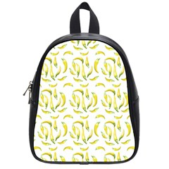 Chilli Pepers Pattern Motif School Bag (small) by dflcprints