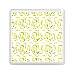Chilli Pepers Pattern Motif Memory Card Reader (square)  by dflcprints
