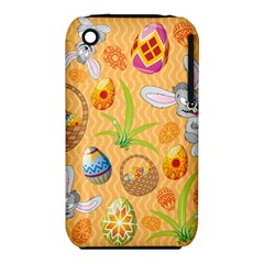 Easter Bunny And Egg Basket Iphone 3s/3gs by allthingseveryone