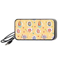 Fun Easter Eggs Portable Speaker by AllThingsEveryone
