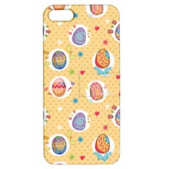 Fun Easter Eggs Apple Iphone 5 Hardshell Case With Stand by allthingseveryone