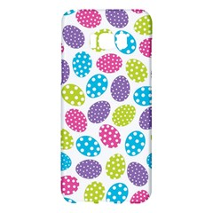 Polka Dot Easter Eggs Samsung Galaxy S8 Plus Hardshell Case  by AllThingsEveryone