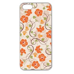 Honeysuckle Delight Apple Seamless Iphone 5 Case (clear)