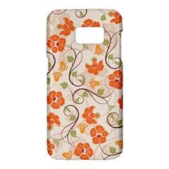 Honeysuckle Delight Samsung Galaxy S7 Hardshell Case  by allthingseveryone